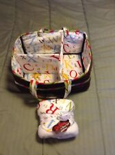 Dr Seuss Trend Lab Storage Caddy With New Hooded Towel Vgc