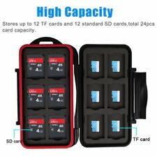 Memory TF SD Card Case Storage Cases of Various Cards Shatter-proof Waterproof