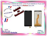 ECRAN LCD COMPLET + VITRE TACTILE WIKO JERRY 3 NOIR