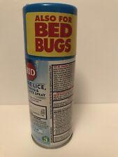 RID Step 3 Home Lice, Bedbug & Dust Mite Spray 5 oz New