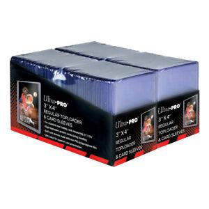 "Ultra Pro 200 Regular Toploader (3"" x 4"") + 200 Card Sleeves - Retail Pack"