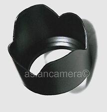 55mm Tele Photo Flower Patel Lens Hood Shade Screw-in US Seller 55 mm Asian