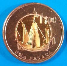 Oecusse 1 pataca 2015 UNC Ship Bi-metallic East Timor Oecussi unusual coin