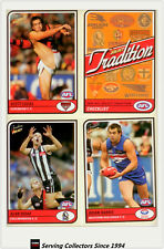 2005 Select AFL Tradition Trading Cards Full Base Card Set (162)-2005 Series 1
