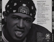 Master P: Bout Dat PROMO MUSIC CD gangsta rap Silkk Album A Cappella 5trk 2000