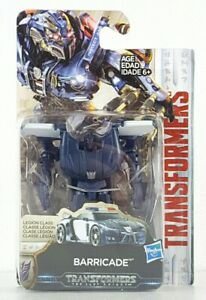 Transformers: The Last Knight Legion Class Barricade Action Figure Kids Toy Gift