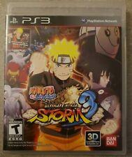Mint Naruto Shippuden Ultimate Ninja Storm 3 Sony PlayStation 3 PS3 No Scratches