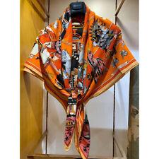 70% Cashmere 30% Silk Thin Scarf Fashion Tribal Style Print Shawl Kerchief 135cm