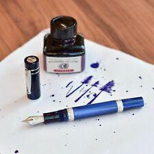 NIP Brushed Chrome Sheaffer 100 Ballpoint Pen Featuring Artist Tanya Azarchik