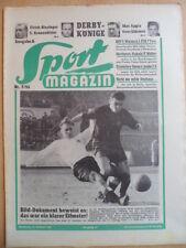 SPORT MAGAZIN KICKER 7A - 14.2. 1955 3* Fürth-Nürnberg 2:1 Kickers-VfB 1:0 Boxen