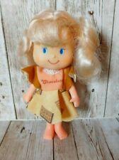 1981 Remco Life Savers Doll W/ Strawberry Shortcake Chocolate Dress