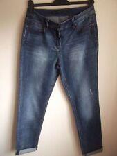 Cotton Regular Size Straight Leg Jeans Women's NEXT