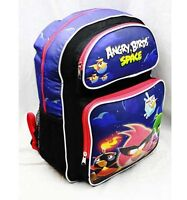 """Angry Birds Space 16"""" Large Backpack School Bag (Red) Licensed by Rovio Newest"""