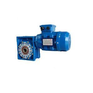 TEC Worm Gear Motor  FCNDK050 30-0.7543-80. 0.75KW 3Ph