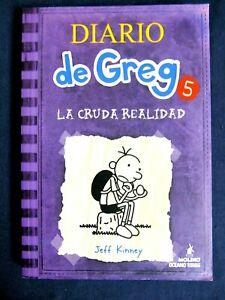 DIARIO DE GREG 5 - La Cruda Realidad - By KINNEY JEFF - PAPERBACK-  2011