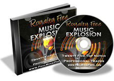 Royalty Free Music Explosion 25 Top Notch Professional Tracks In A Variety of