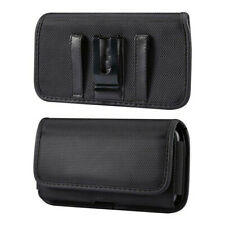 Oxford Cell Phone Waist Belt Clip Holster Pouch Wallet Card Holder Case Cover Us