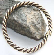Antique Bronze Twisted Hand Bracelet Arm Ring