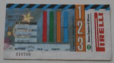 Ticket for collectors EC Inter Milan AS Monaco 1997 Italy France