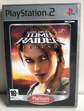 PS2 Tomb Raider Legend Platinum Dutch NL version Playstation 2