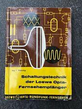 Loewe Opta Schaltungstechnik Fernsehgeräte