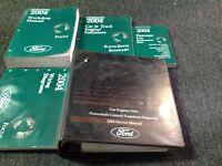 2004 FORD FOCUS Service Repair Shop Workshop Manual Set OEM W EWD PCED + SPECS