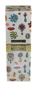 Moschino So Real Cheap and Chic Eau de Toilette 100 ml Parfum für Sie Neu +OVP