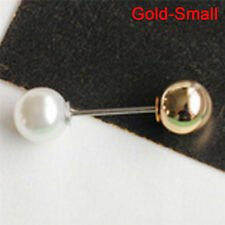 Big Needle Pearl Brooch Bouquet Pin Sweater Shawl Buckle Wedding Jewe YJ