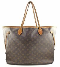 Louis Vuitton Neverfull GM Large Monogram Canvas Shoulder Bag Authentic