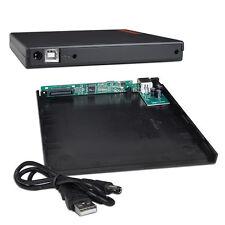 USB 2.0 CD/CD-RW/DVD-ROM/DVDRW IDE Slim Notebook External IDE Drive Enclosure