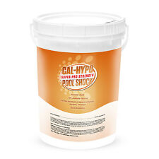 Cal Hypo Swimming Pool 73% Calcium Hypochlorite Super Chlorine Shock 50lb Bucket