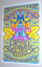 CREEDENCE CLEARWATER REVIVAL - New York, us - 21 december 1968  concert poster