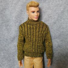 "Handmade doll Sweater clothes for 1/6 ken dolls 12"" dolls sweater"