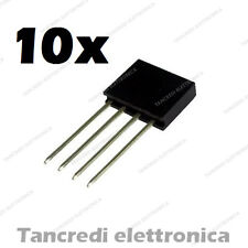 10x Connettori Strip Line Femmina 4 poli 10x1 - Header Socket Female arduino