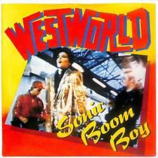 """Westworld - Sonic Boom Boy - 7"""" Record Single"""