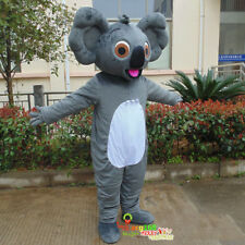 Koala Bear Mascot Costume Adult Cosplay Cosplay Party Dress Outfit Animal Parade