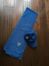 More details for scarf malaga cf spain scarf scarf neckwarmer sjaal no flag football plus cap