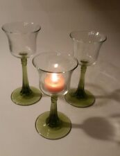 PartyLite-Radiant GlowTrio (3)Stemmed Votive/Tealight Holders.P7998 B/New in Box