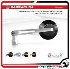 Barracuda 2 Specchietti retrovisori SINTESY B-LUX Naked colore Argento/Nero