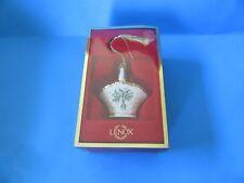 """Lenox """"Holiday Basket� Christmas Ornament"""