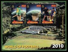 ST.HELENA 2010 SPORT FOOTBALL FIFA WORLD CUP Mi.Bl.53 MNH SOUVENIR SHEET