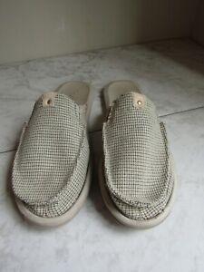 SANUK You Got My Back 7234248 Canvas Mules Shoe Women's Size 11 EU 42