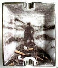 VIK MUNIZ 'The Wanderer' Ashtray 1999 'PIctures of Ashes' Ltd. Edition Multiple