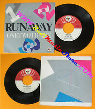 LP 45 7'' RUNAWAY One two three 1983 italy BABY RECORDS BR 50287 no cd mc dvd*