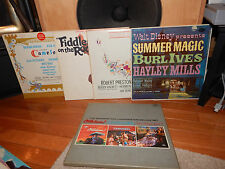 Lot of 7 Broadway Musical Soundtrack's LP's