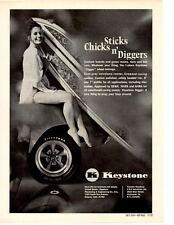 1970 BUICK GS  ~   SEXY ORIGINAL KEYSTONE WHEEL AD