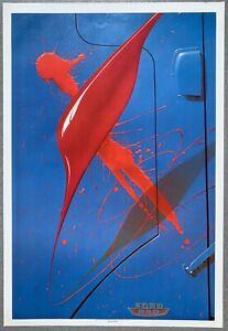 Blue Truck, Red Paint - Michael English 1982 Print