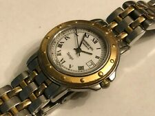 "S/S RAYMOND WEIL ""Tango"" Lady's 5360 Geneve Swiss Made 2-tone Quartz Watch"