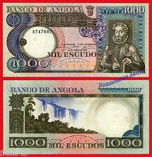ANGOLA 1000 Escudos 1973  Pick 108  SC /  UNC