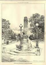 1903 Memorial To The Late Onslow Forward St John's Would